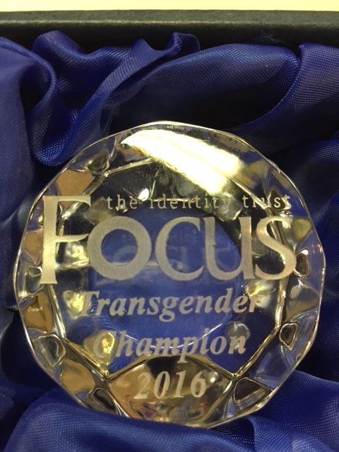 Transgender Champion Award 2016