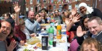 Big lunch 2015: some of the guests